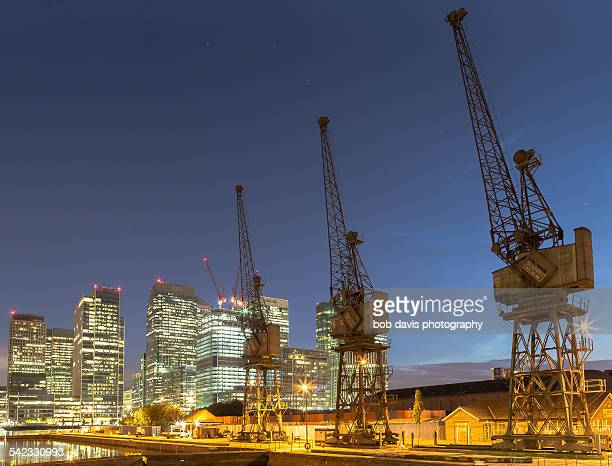 Canary wharf and old docklands