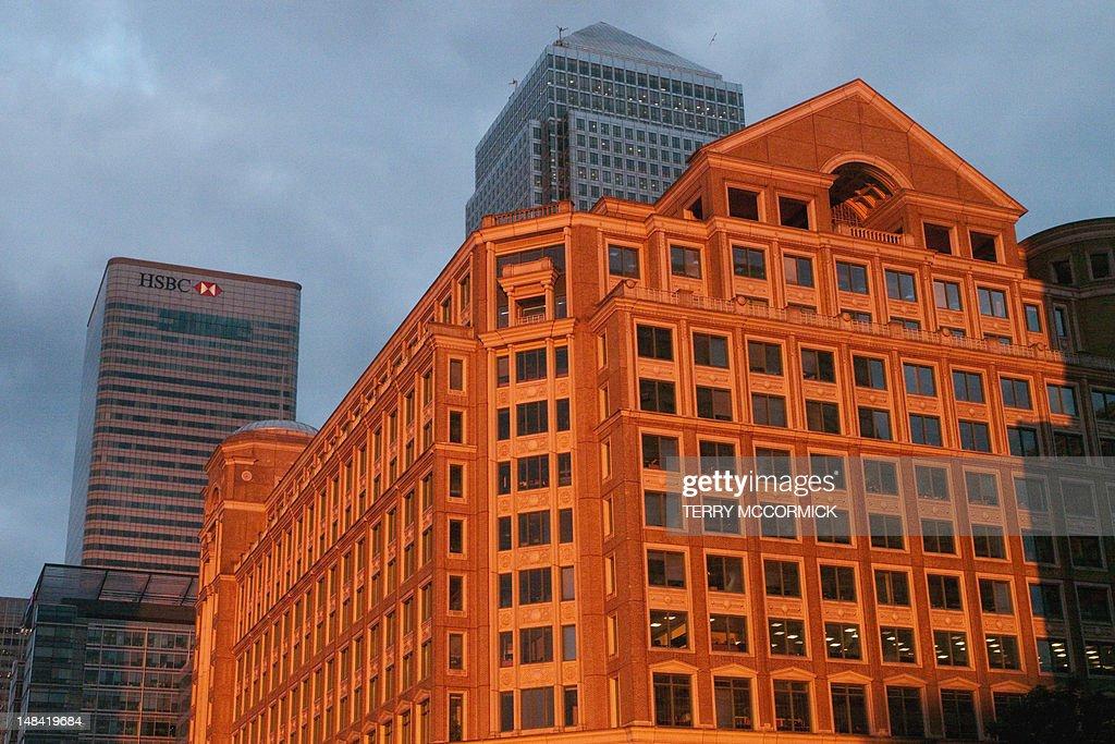 Canary Wharf, Docklands, London : Stock Photo