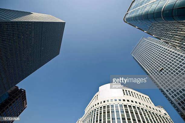 Canary Wharf financial center, London