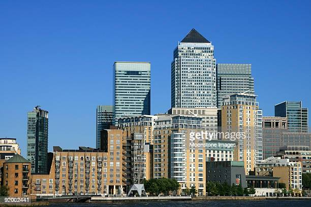 Canary Wharf in London, England