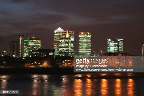 Canary Wharf : Stock Photo