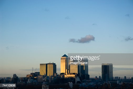 Canary wharf : Stock Photo