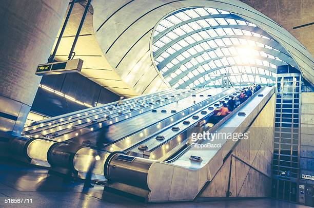 Canary Wharf Station in London