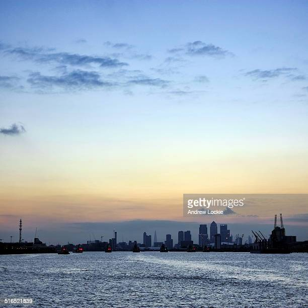Canary Wharf & The Thames Barrier