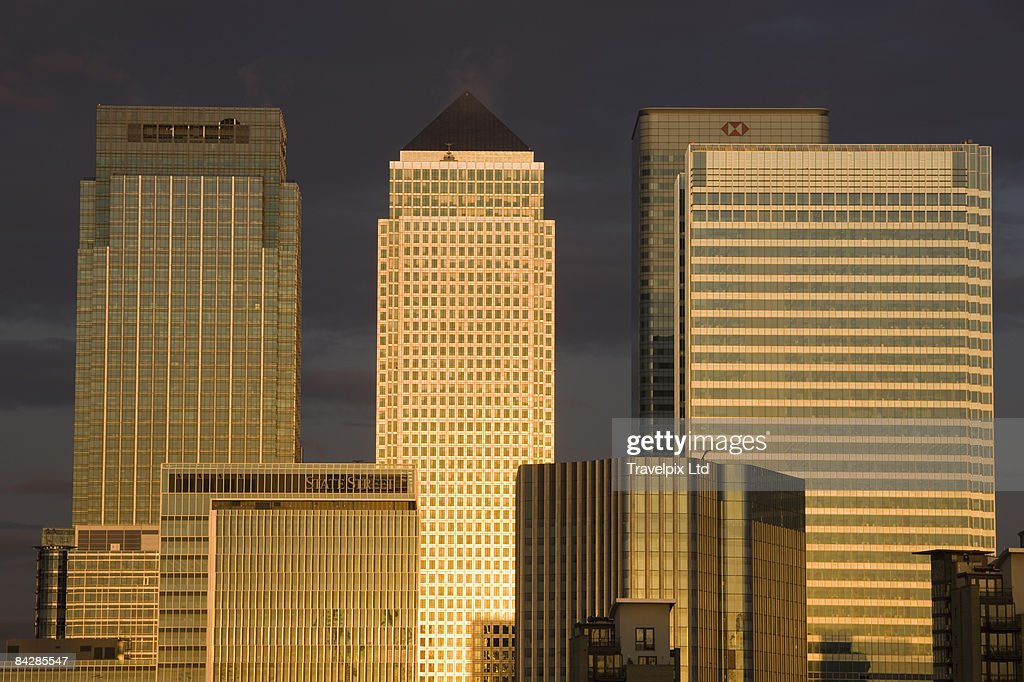 Canary Wharf Tower : Stock Photo