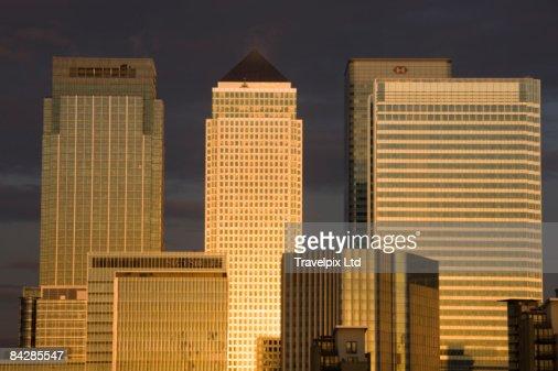 Canary Wharf Tower : Stock Photo