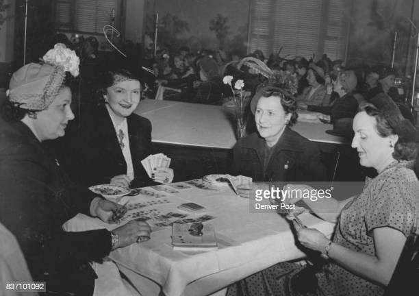 Canasta the season's most popular game continues to find favor with many socialites This group Mrs Arthur Oberfelder Mrs William F Hayden Mrs Melvin...