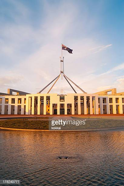 Canberra - Parliament House (Sunrise)
