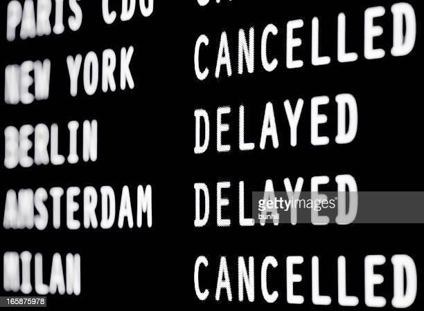 Flüge storniert & verzögert-Flughafen-information (ANKUNFT ABFAHRT