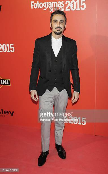 Canco Rodriguez attends Fotogramas Awards on March 7 2016 in Madrid Spain