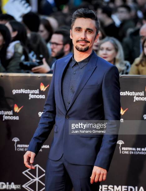 Canco Rodriguez attends photocall during of the 20th Malaga Film Festival on March 25 2017 in Malaga Spain