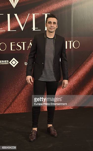 Canco Rodriguez attends the party for the series final of 'Galerias Velvet' at Continental hotel on December 21 2016 in Madrid Spain