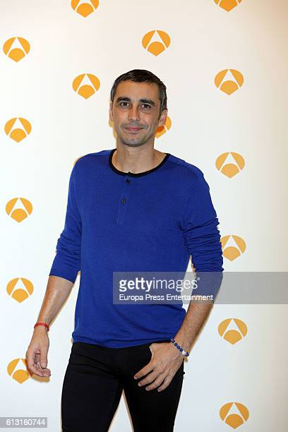 Canco Rodriguez poses during a photocall to present 'Tu Cara Me Suena' on October 6 2016 in Madrid Spain