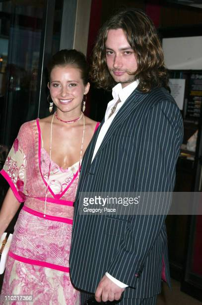 Candace Bailey and Constantine Maroulis during 'Star Wars Episode III Revenge Of The Sith' New York City Benefit Premiere Inside Arrivals at Ziegfeld...