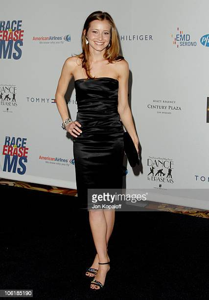 Candace Bailey during 14th Annual Race to Erase MS Themed 'Dance to Erase MS' Arrivals at Century Plaza Hotel in Century City California United States