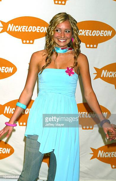 Candace Bailey during Nickelodeon's 16th Annual Kids' Choice Awards 2003 Press Room at Barker Hanger in Santa Monica California United States