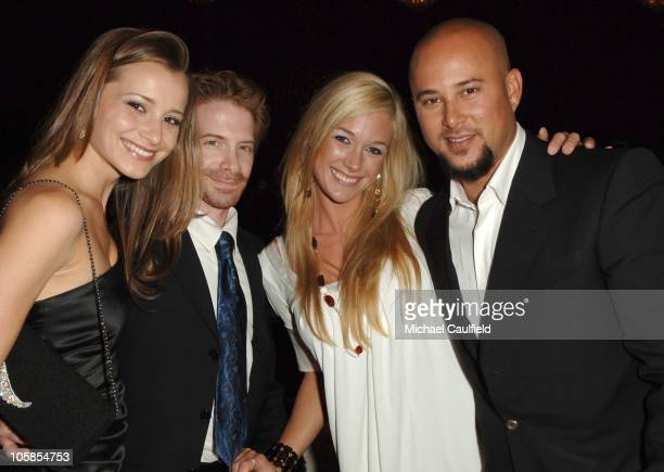 Candace Bailey Seth Green Cris Judd and guest