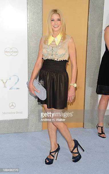 Candace Bushnell attends 'Sex And The City 2' Premiere presented by MercedesBenz And Maybach at Radio City Music Hall on May 24 2010 in New York City