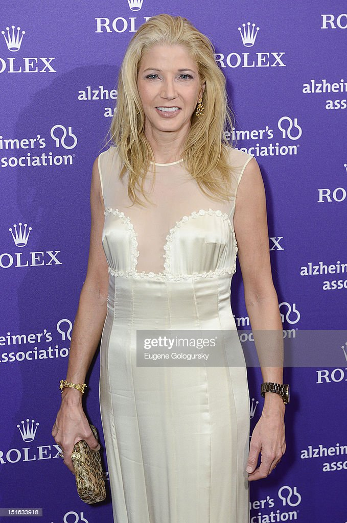 Candace Bushnell attends the 2012 Alzheimer Association Rita Hayworth Gala at The Waldorf Astoria on October 23, 2012 in New York City.