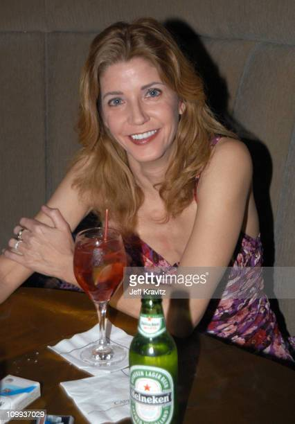 Candace Bushnell during HBO's Six Feet Under Third Season World Premiere After Party at Capitale in New York City New York United States