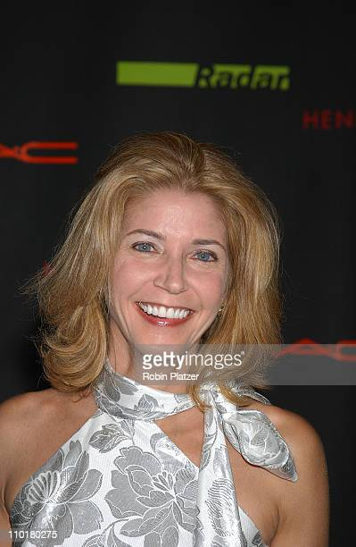 Candace Bushnell during New Innovations in Design Publishing Party hosted by Radar magazine at Henri Bendel in New York New York United States