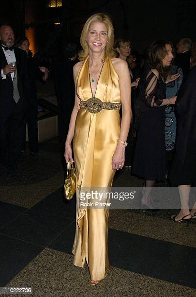 Candace Bushnell during The 2005 PEN Montblanc Literary Gala at The American Museum of Natural History in New York City New York United States
