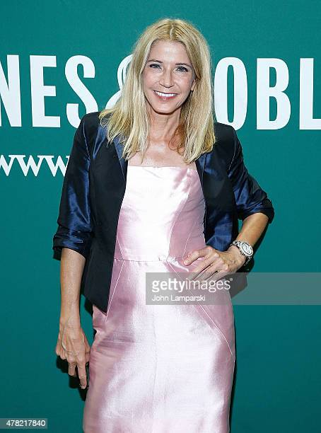 Candace Bushnell signs copies of 'Killing Monica' at Barnes Noble Union Square on June 23 2015 in New York City