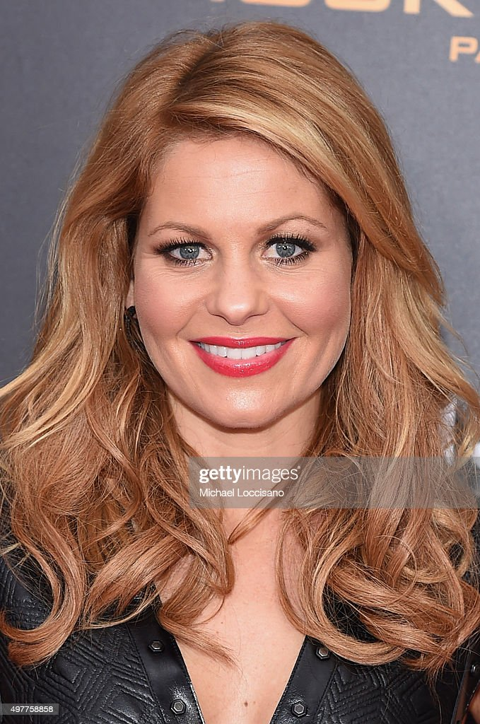 Candace Cameron atttends 'The Hunger Games: Mockingjay- Part 2' New York Premiere at AMC Loews Lincoln Square 13 theater on November 18, 2015 in New York City.