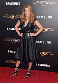 Candace Cameron atttends 'The Hunger Games Mockingjay Part 2' New York Premiere at AMC Loews Lincoln Square 13 theater on November 18 2015 in New...