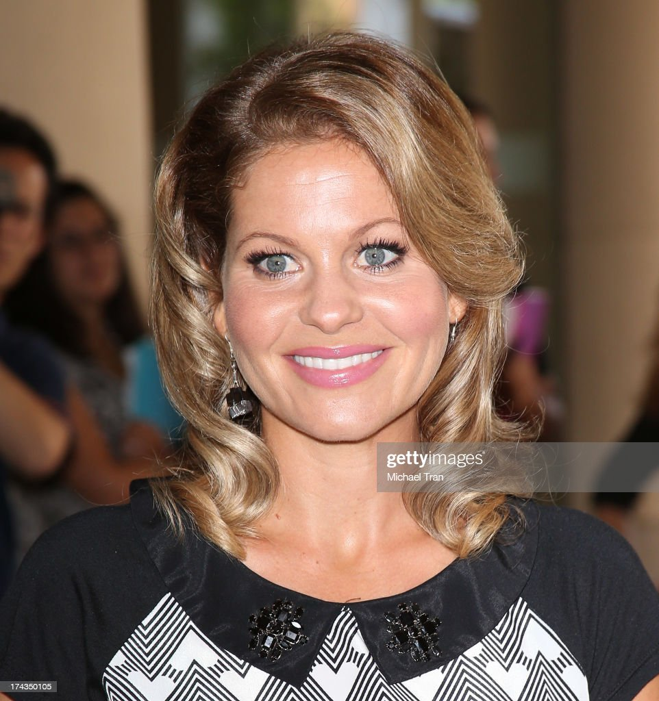 <a gi-track='captionPersonalityLinkClicked' href=/galleries/search?phrase=Candace+Cameron+Bure&family=editorial&specificpeople=699962 ng-click='$event.stopPropagation()'>Candace Cameron Bure</a> arrives at the Television Critic Association's Summer press tour - Hallmark Channel & Hallmark Movie Channel event held at The Beverly Hilton Hotel on July 24, 2013 in Beverly Hills, California.