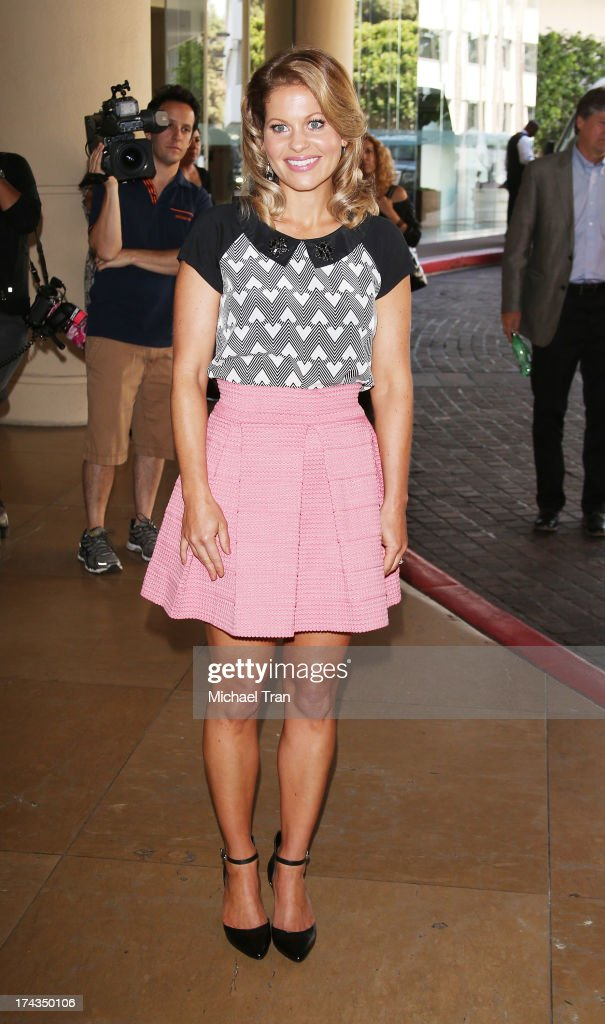 Candace Cameron Bure arrives at the Television Critic Association's Summer press tour - Hallmark Channel & Hallmark Movie Channel event held at The Beverly Hilton Hotel on July 24, 2013 in Beverly Hills, California.