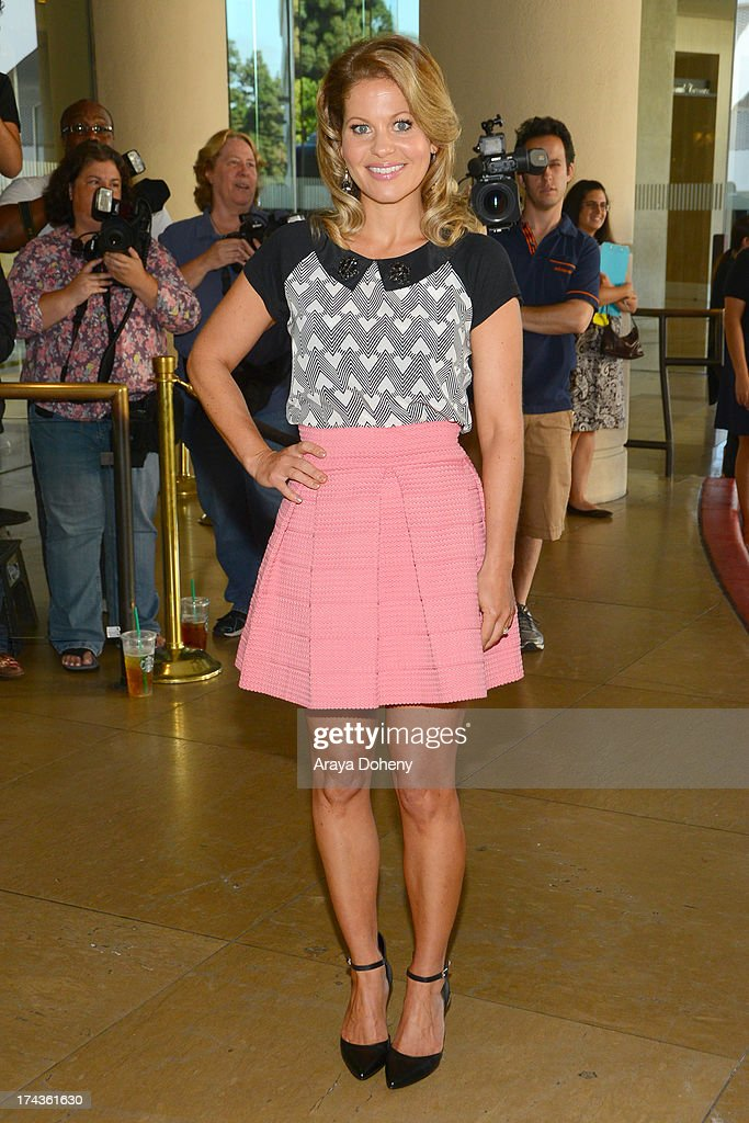 Candace Cameron Bure arrives at the Television Critic Association's Summer press tour - Hallmark Channel & Hallmark Movie Channel party at The Beverly Hilton Hotel on July 24, 2013 in Beverly Hills, California.