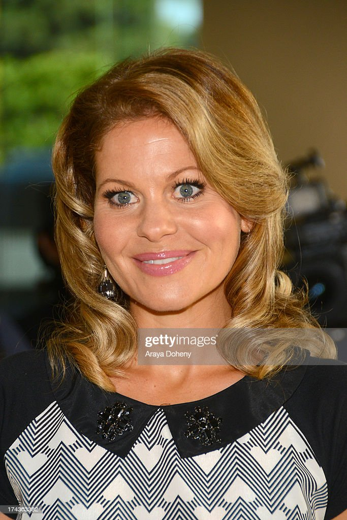 <a gi-track='captionPersonalityLinkClicked' href=/galleries/search?phrase=Candace+Cameron+Bure&family=editorial&specificpeople=699962 ng-click='$event.stopPropagation()'>Candace Cameron Bure</a> arrives at the Television Critic Association's Summer press tour - Hallmark Channel & Hallmark Movie Channel party at The Beverly Hilton Hotel on July 24, 2013 in Beverly Hills, California.