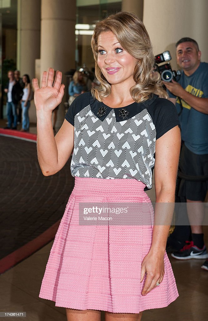 Candace Cameron Bure attends Hallmark Channel and Hallmark Movie Channel's '2013 Summer TCA' Press Gala at The Beverly Hilton Hotel on July 24, 2013 in Beverly Hills, California.