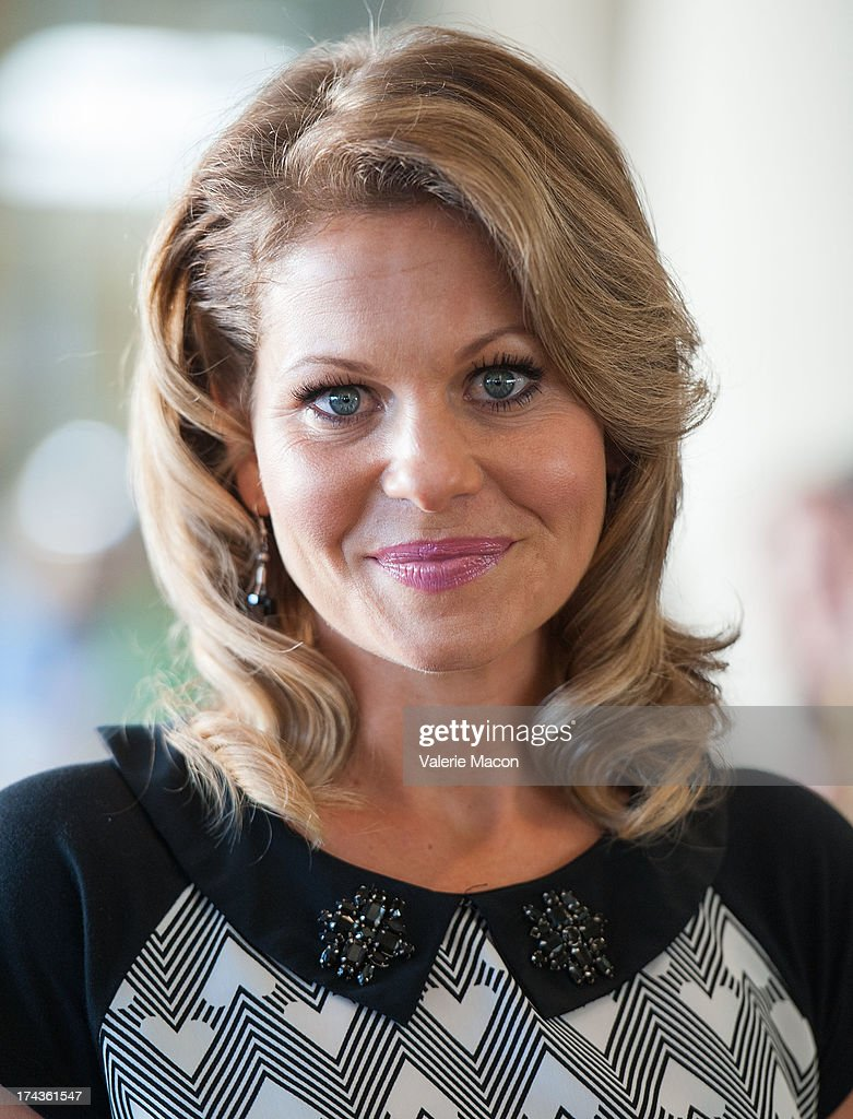 <a gi-track='captionPersonalityLinkClicked' href=/galleries/search?phrase=Candace+Cameron+Bure&family=editorial&specificpeople=699962 ng-click='$event.stopPropagation()'>Candace Cameron Bure</a> attends Hallmark Channel and Hallmark Movie Channel's '2013 Summer TCA' Press Gala at The Beverly Hilton Hotel on July 24, 2013 in Beverly Hills, California.