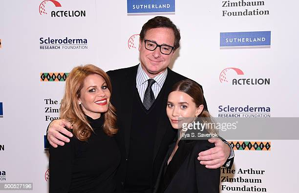 Candace Cameron Bure Bob Saget and Ashley Olsen attend Cool Comedy Hot Cuisine A Benefit For The Scleroderma Research Foundation at Carolines On...