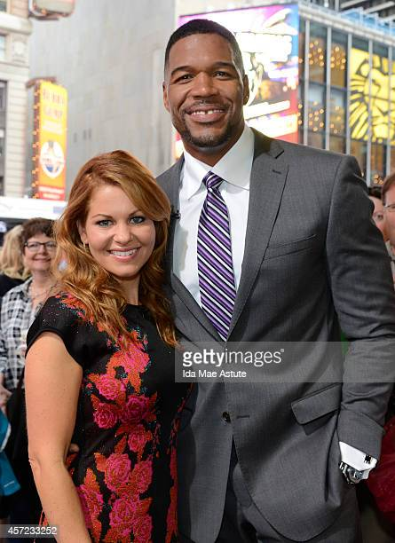 AMERICA Candace Cameron Bure visits GOOD MORNING AMERICA 10/14/14 airing on the ABC Television Network