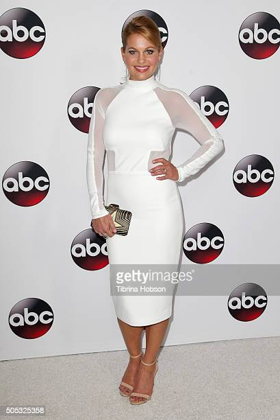 Candace CameronBure attends the Disney/ABC 2016 Winter TCA Tour at Langham Hotel on January 9 2016 in Pasadena California