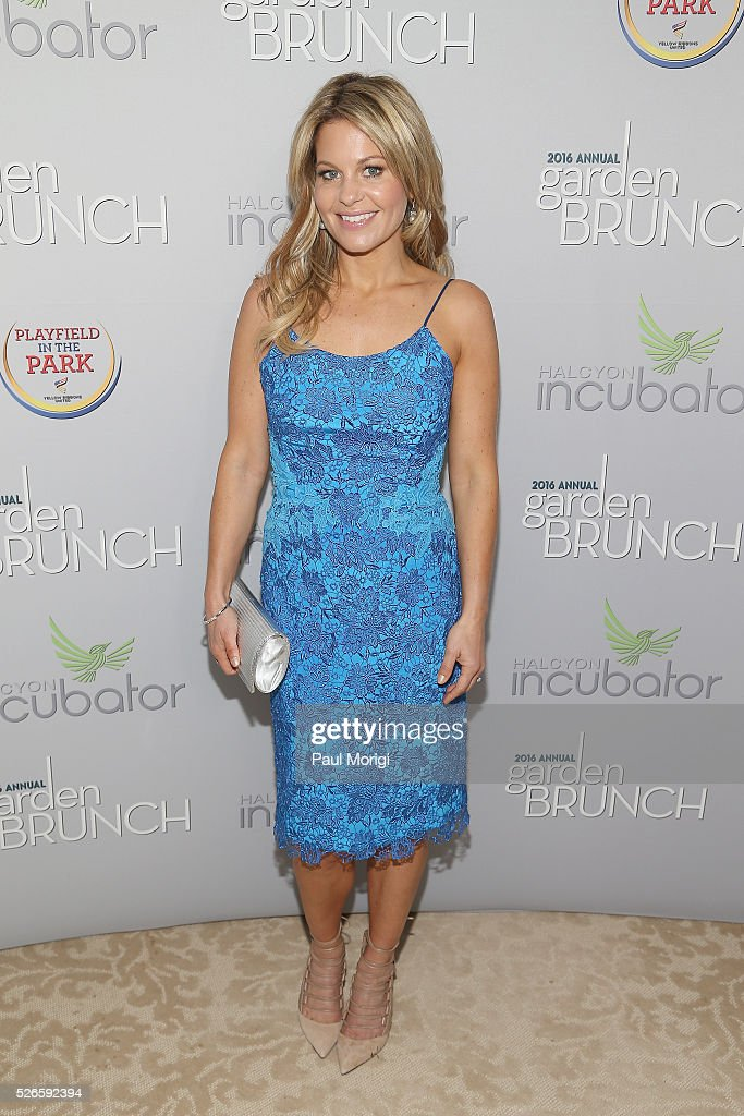 Candace Cameron-Bure attends the Garden Brunch prior to the 102nd White House Correspondents' Association Dinner at the Beall-Washington House on April 30, 2016 in Washington, DC.