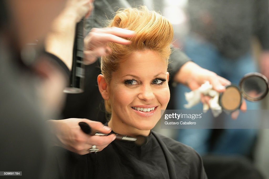 Candace Cameron-Bure is seen around fall 2016 New York Fashion Week: The Shows - Day 1 on February 11, 2016 in New York City.