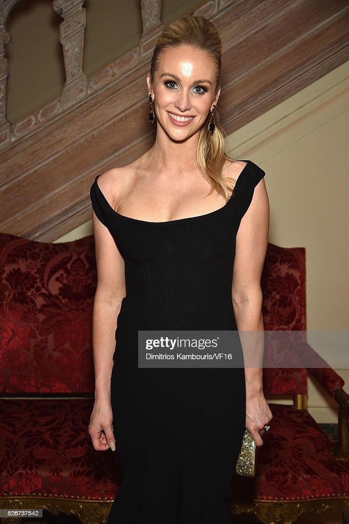 Candace Crawford- Romo attends the Bloomberg & Vanity Fair cocktail reception following the 2015 WHCA Dinner at the residence of the French Ambassador on April 30, 2016 in Washington, DC.