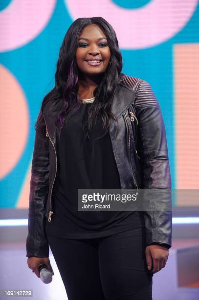 Candace Glover visits BET's '106 Park' at BET Studios on May 20 2013 in New York City