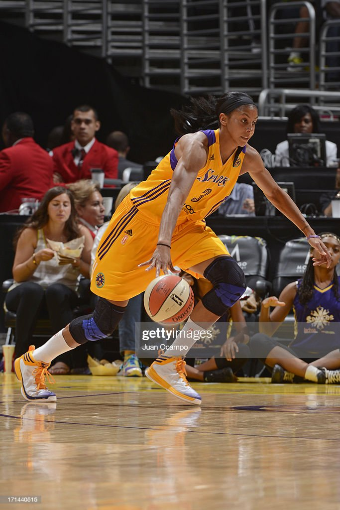 <a gi-track='captionPersonalityLinkClicked' href=/galleries/search?phrase=Candace+Parker&family=editorial&specificpeople=752955 ng-click='$event.stopPropagation()'>Candace Parker</a> #3 of the Los Angeles Sparks drives to the basket against the Washington Mystics at Staples Center on June 23, 2013 in Los Angeles, California.