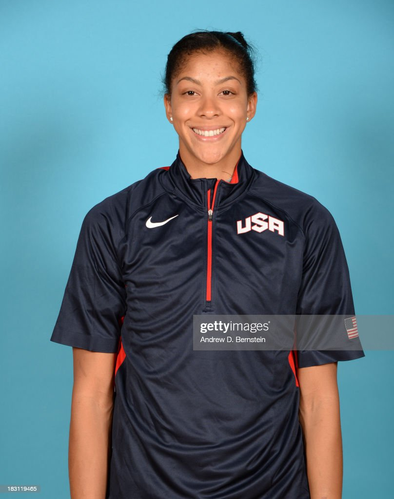 <a gi-track='captionPersonalityLinkClicked' href=/galleries/search?phrase=Candace+Parker&family=editorial&specificpeople=752955 ng-click='$event.stopPropagation()'>Candace Parker</a> poses for a head shot during the USA Womens National Team Mini-Camp on October 4, 2013 at the Cox Pavilion in Las Vegas, Nevada.