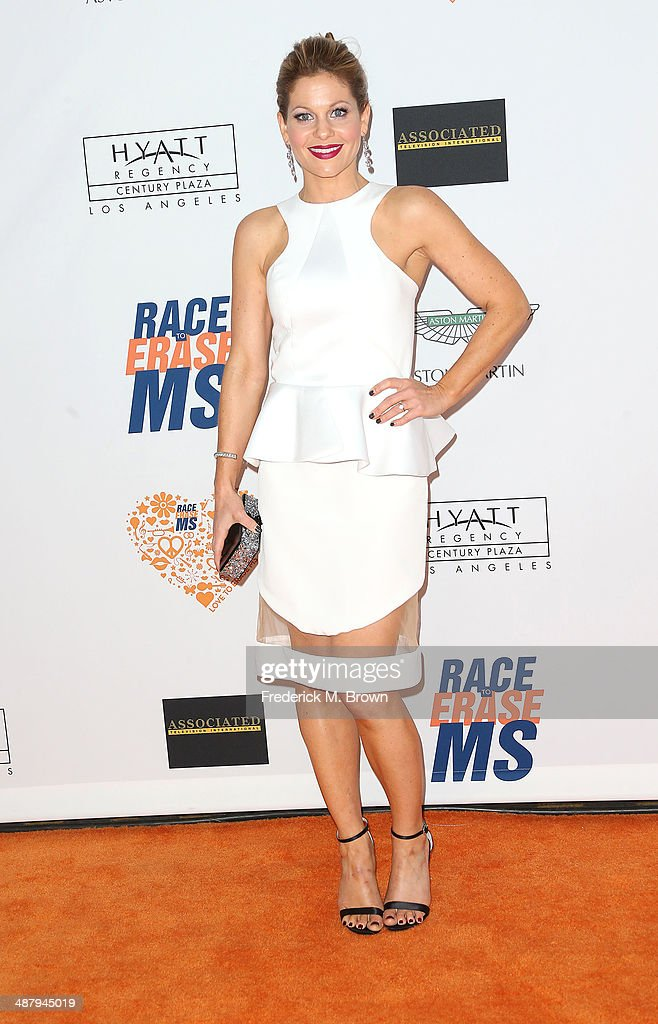 Candance Cameron-Bure attends the 21st Annual Race to Erase MS at the Hyatt Regency Century Plaza Hotel on May 2, 2014 in Century City, California.