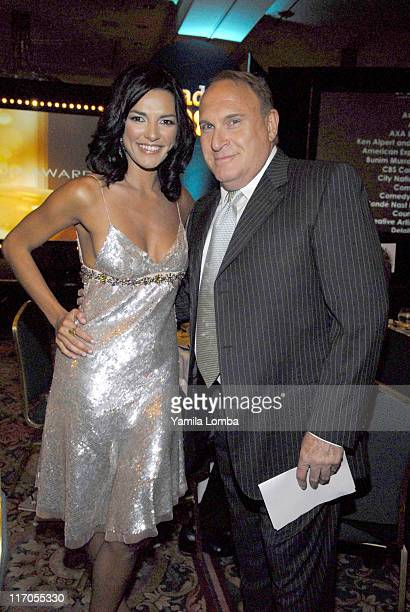 Candela Ferro and Mauricio Zeilic during 18TH ANNUAL GLAAD MEDIA AWARDS Miami at JW Marriott in Miami Florida United States