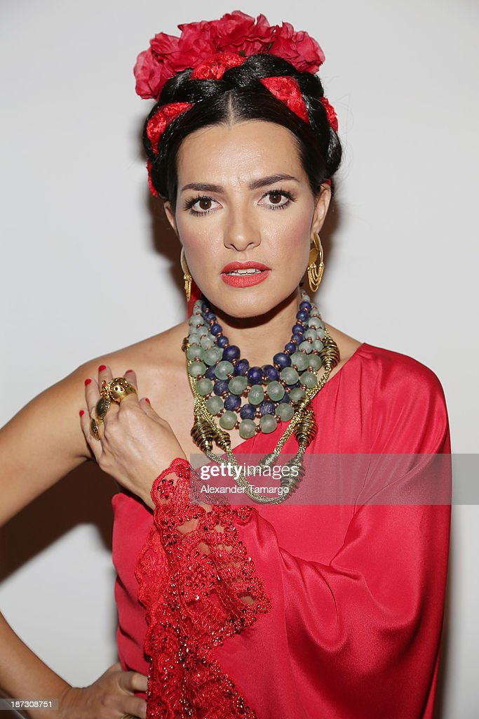 Candela Ferro attends Miami Hair Beauty and Fashion 2013 by Rocco Donna on November 7, 2013 in Miami, Florida.