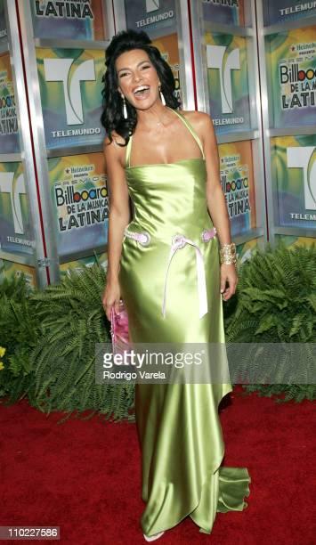 Candela Ferro during 2005 Billboard Latin Music Awards Arrivals at Miami Arena in Miami Florida United States