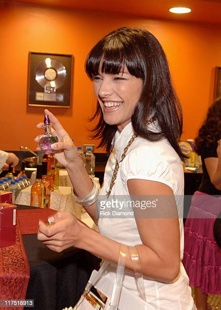Candela Ferro during 2006 Billboard Latin Music Conference Awards Backstage Creations Talent Retreat Day 1 at The Seminole Hard Rock Hotel and Casino...