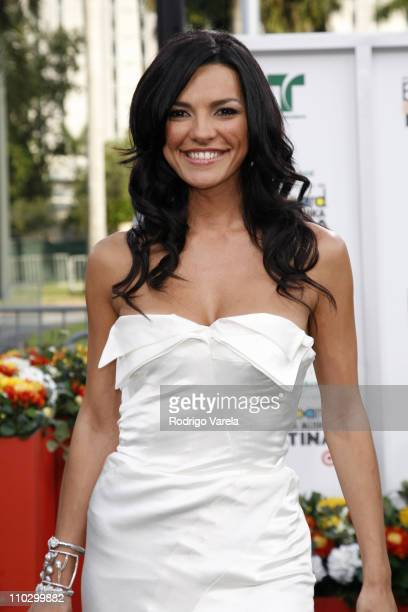 Candela Ferro during Billboard Latin Music Conference and Awards 2007 Arrivals at Bank United Center in Coral Gables Florida United States